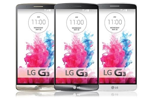 LG G3 TANITILDI