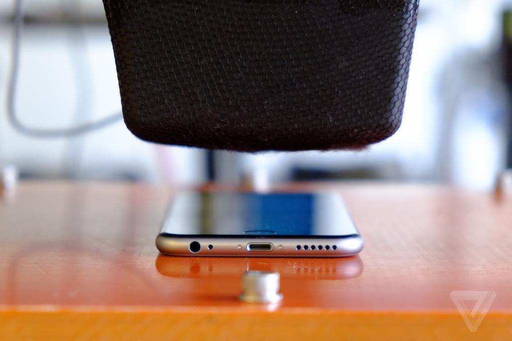 iphone 6 dayaniklilik testleri basincv
