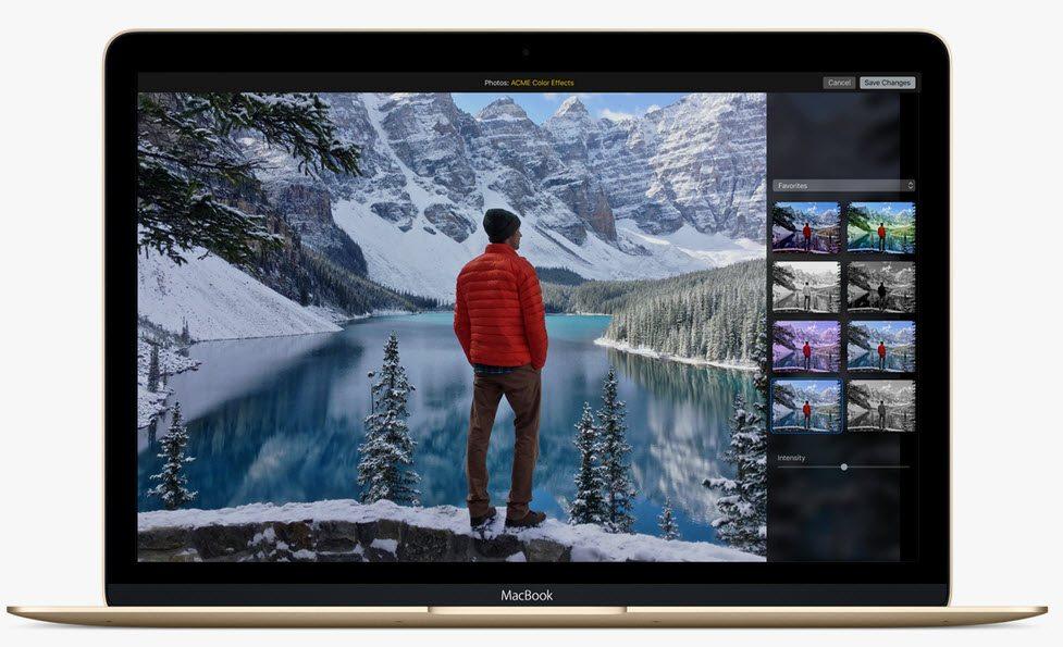 OS X El Capitan sistem performansi