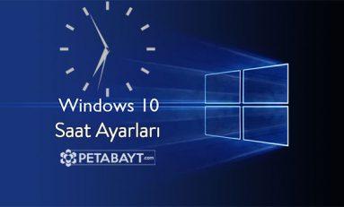 Windows 7 ve 10 için yeni saat ayarları güncellemesi GMT + 3