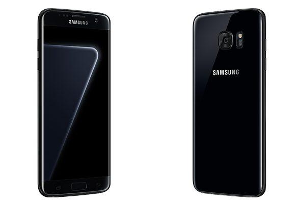 Samsung'un Yeni Telefonu Black Pearl Galaxy S7 Edge