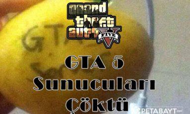 Gta 5 PS4 Xbox One ve PC Sunucuları Yeniden Çöktü