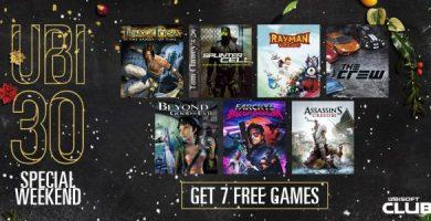 Ubisoft uPlay Tam 7 Yeni Oyunu Ücretsiz Veriyor