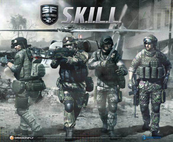 S.K.I.L.L Special Force 2 FRP oyunu (Gameforge )
