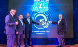 Türkiye'nin ilk 5G testinde 24,7 Gbps rekor hıza ulaşıldı