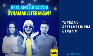 Turkcell GNÇ Reklamlarında Oynama Şansı